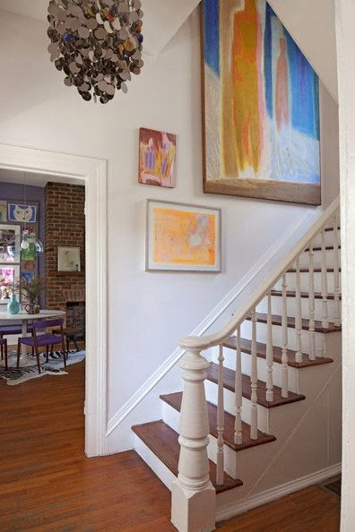 50 Creative Staircase Wall decorating ideas, art frames ... on Creative Staircase Wall Decorating Ideas  id=22366