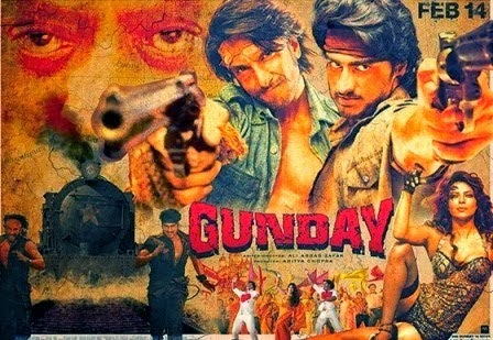Gunday mp3 songs for download.