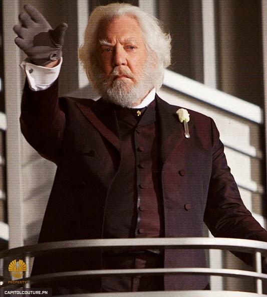 MoovyBoovy: Donald Sutherland as President Snow