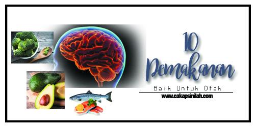 10 Pemakanan Baik untuk Otak