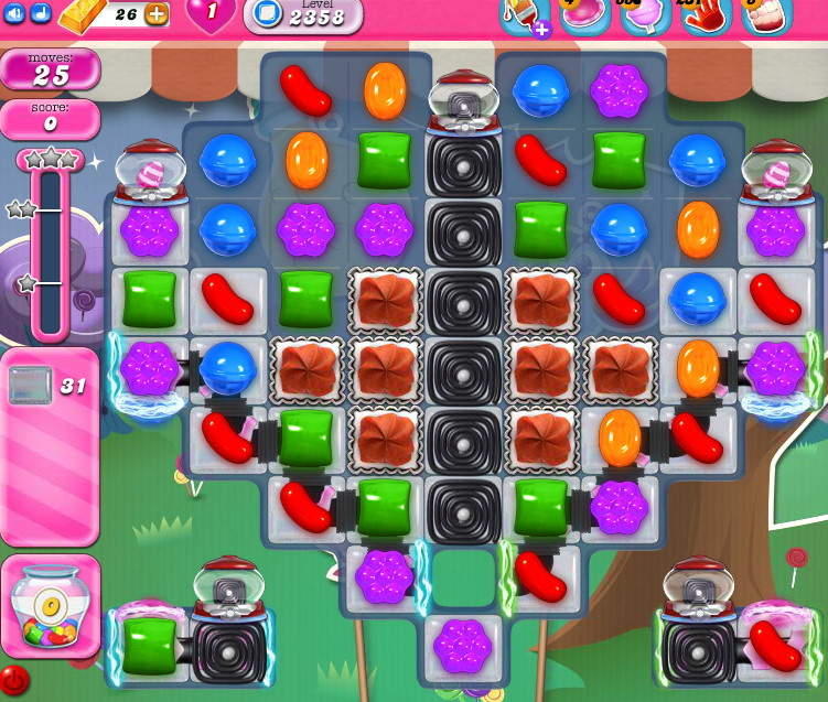 Candy Crush Saga level 2358