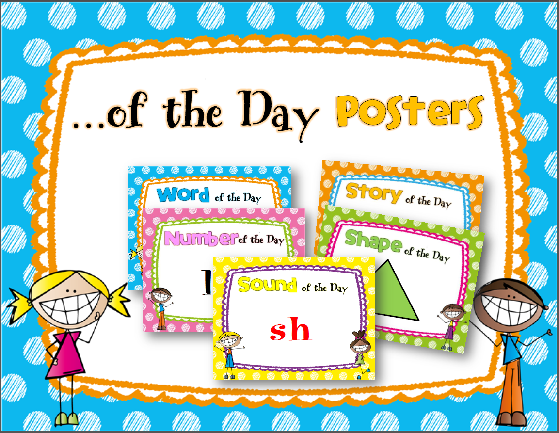 http://www.teacherspayteachers.com/Product/Word-of-the-Day-Posters-1586399