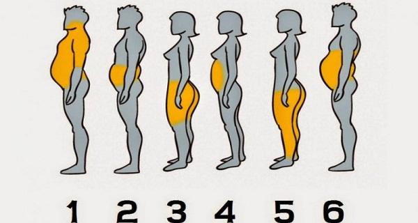 pozitionarea grasimii pe corp indica detalii despre starea de sanatate