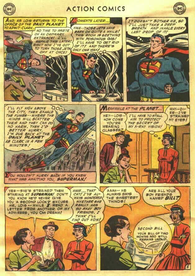 Read online Action Comics (1938) comic -  Issue #202 - 7