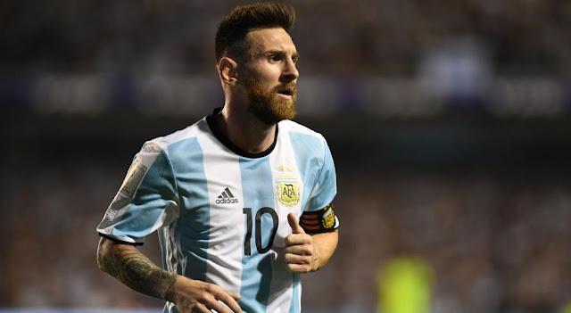 lionel messi - seleccion argentina de futbol