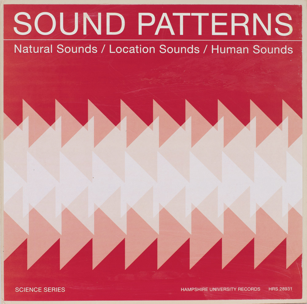 Sound Patterns Faux Record by Julian Montague