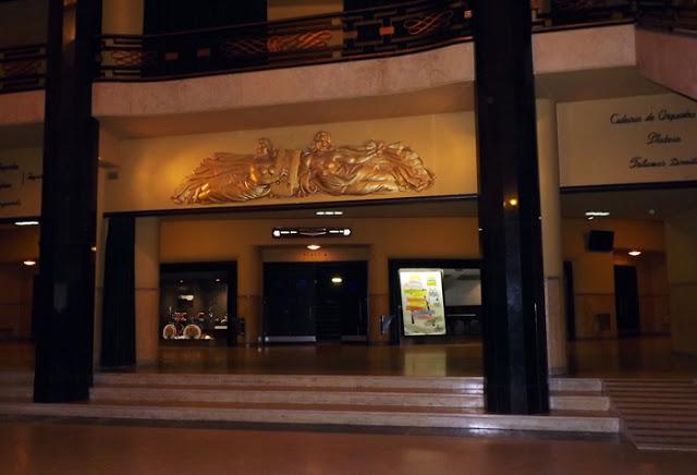 Entrada do Teatro Coliseu do Porto