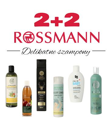 Rossmann 2+2 - szampony delikatne.