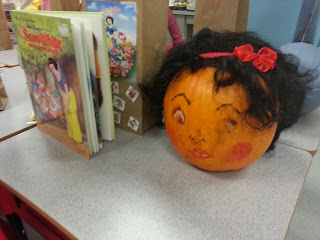 Pumpkin Book Reports- Snow White