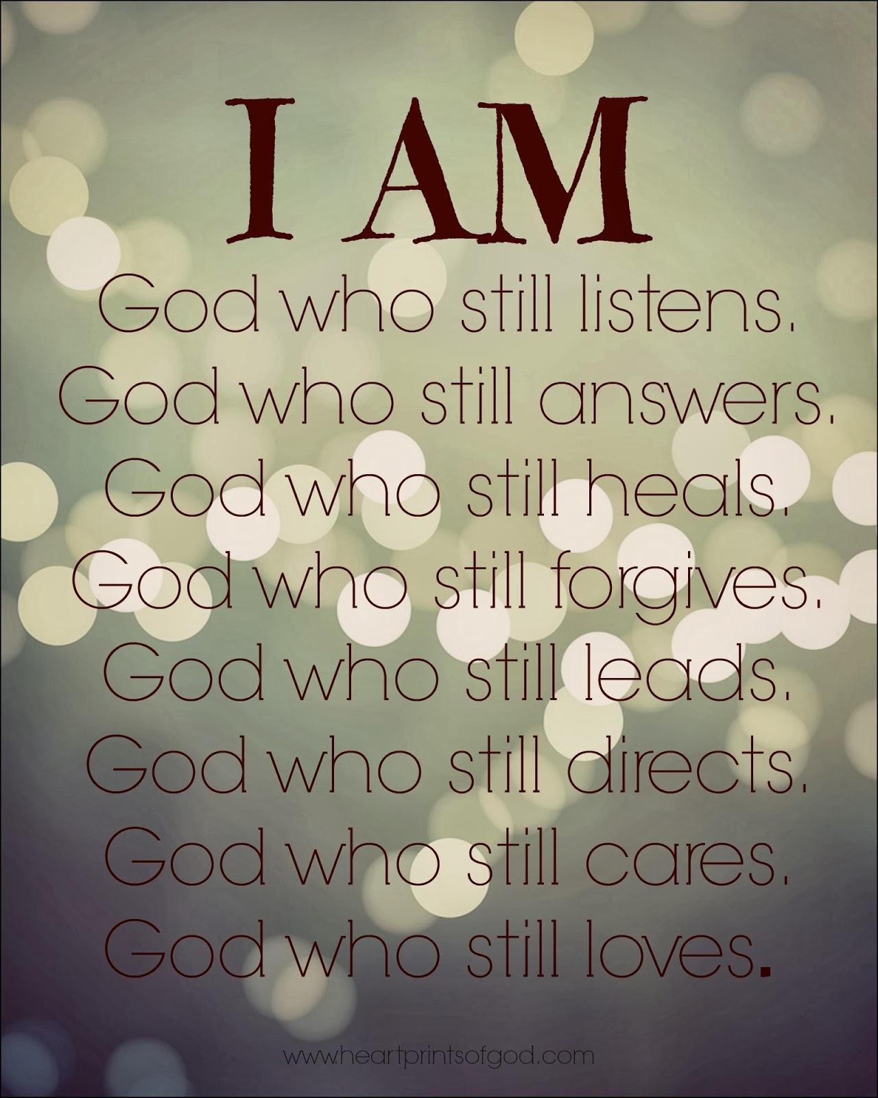 Heartprints Of God: He Still Is