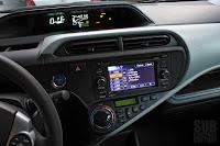 Toyota Prius c center stack