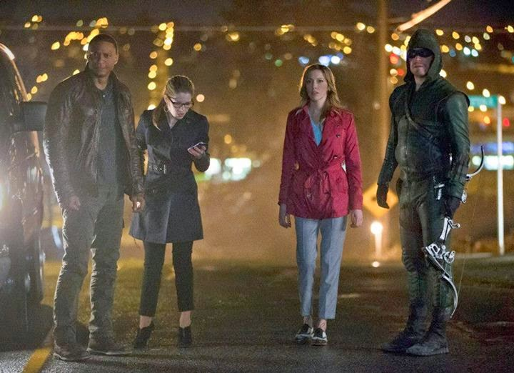 All About TV News: Tonight's New Episodes 5/7: Team 'Arrow