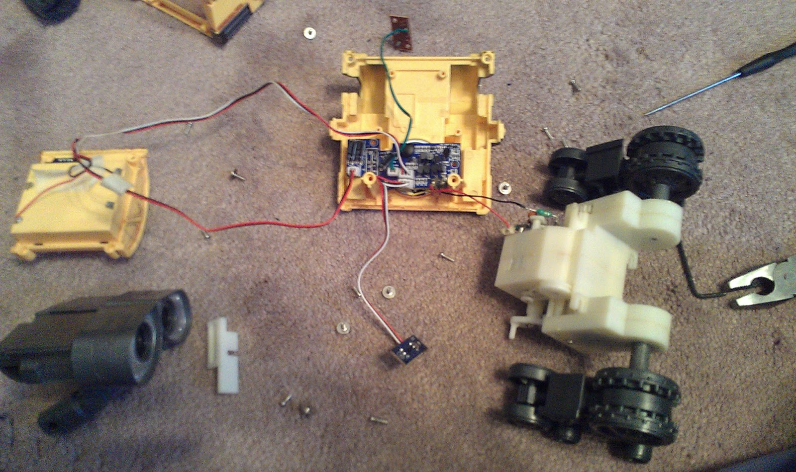 Arduino Electronics And Programming Wall E Robot Object Face Recognition Sound Recognition Ai