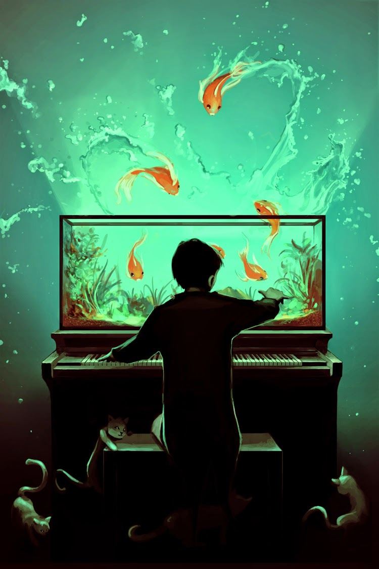 16-Le-Pianoquarium-Rolando-Cyril-aquasixio-Surreal-Fantasy-Otherworldly-Art-www-designstack-co