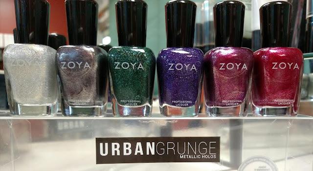 zoya urban grunge metallic halos