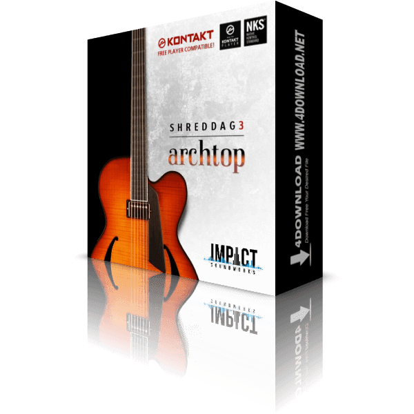 Download Shreddage 3 Archtop KONTAKT Library