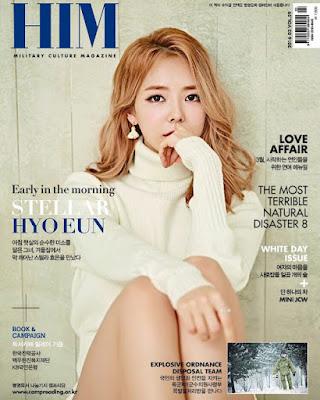 Hyoeun Stellar HIM March 2016
