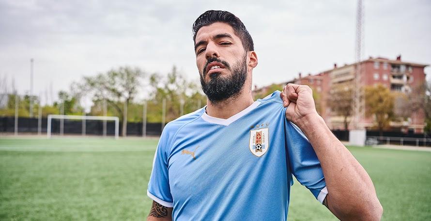 sports shoes e68ba 3e0ce Uruguay 2019 Copa America Home   Away Kits Revealed