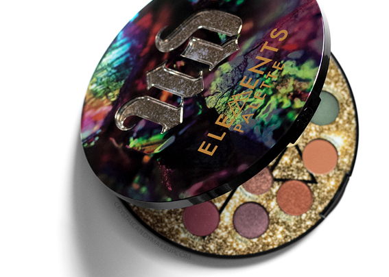 Palette Elements Urban Decay Revue
