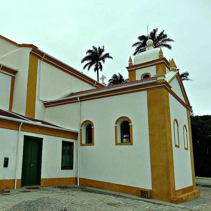 Igreja Matriz São José, Santa Catarina:  No interior, a imagem do padroeiro São José