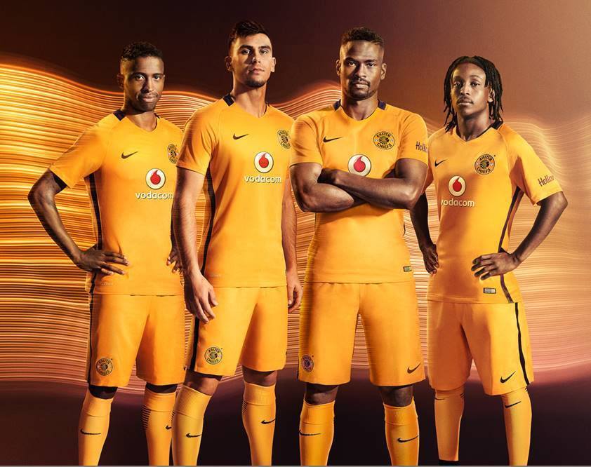 Kaizer Chiefs: Kaizer Chiefs 16-17 Home Kit Released