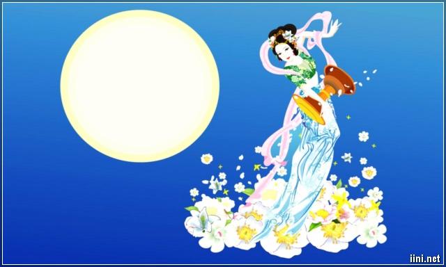 trăng và chị Hằng trong ngày Tết Trung Thu