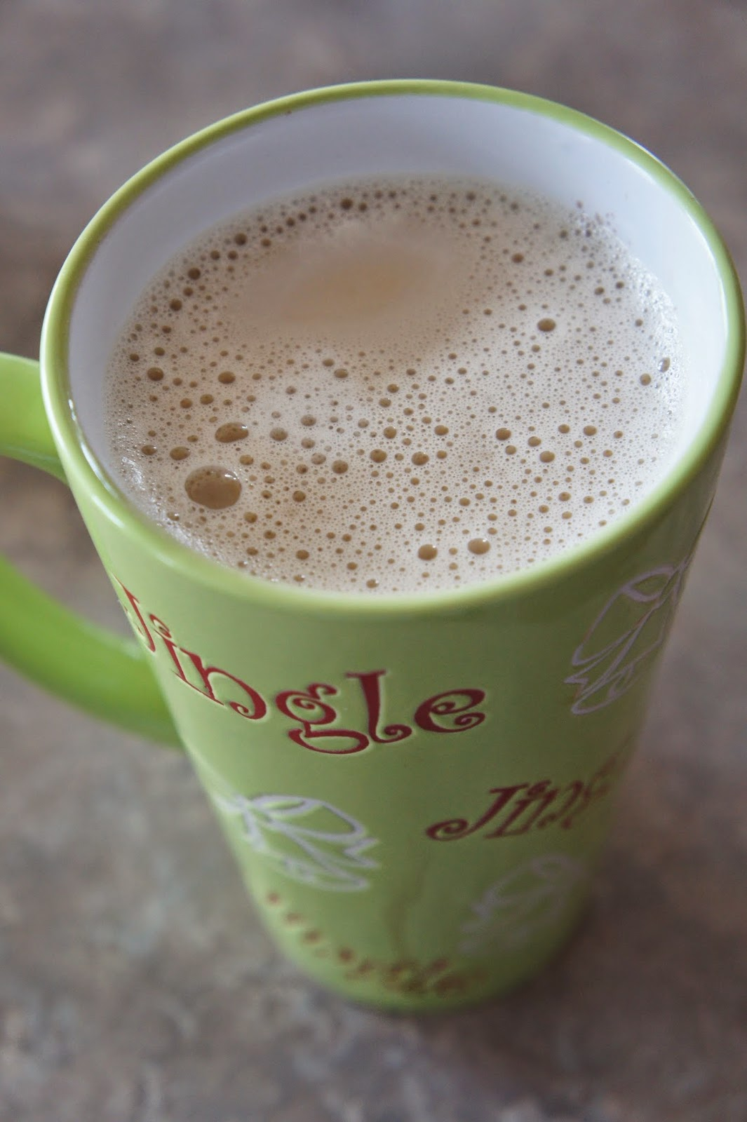Egg Nog Latte Two Ways: Savory Sweet and Satisfying