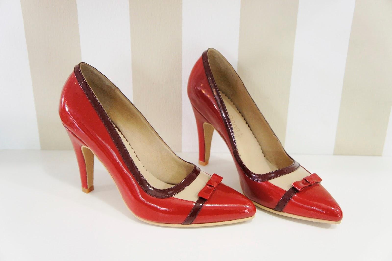 Lana Bang - Zapatos de Diseño, Zapatos Rojos