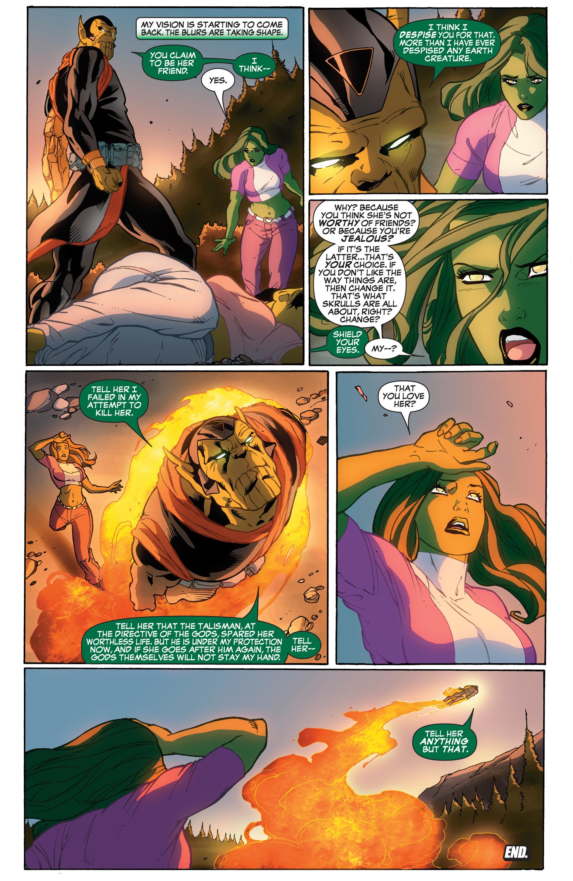 Read online She-Hulk (2005) comic -  Issue #33 - 24