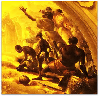 Os Negros em 'Teresinha, Padroeira das Missões', Aldo Locatelli (1955), Igreja Santa Teresinha