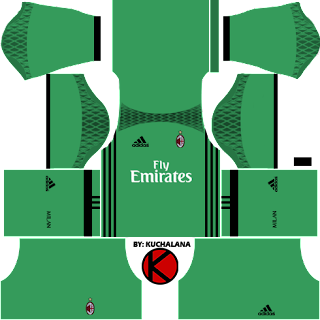 AC Milan Kits 2016/2017 - Dream League Soccer 2016 and FTS15