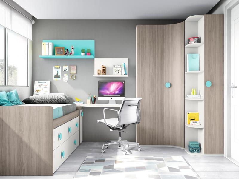 Blog dormitorios juveniles com armarios de rinc n para for Armarios juveniles