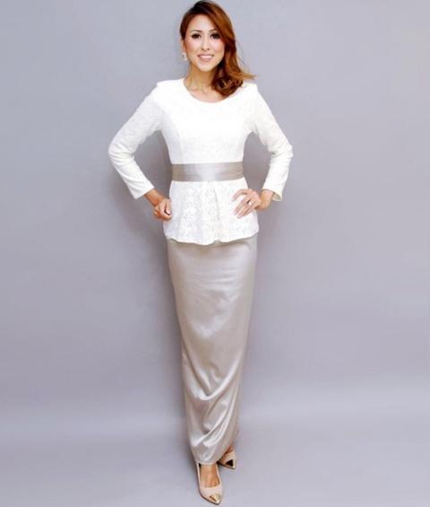 model baju kain songket