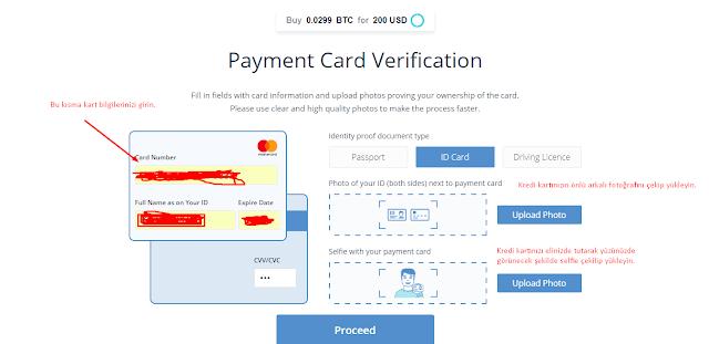 Kredi kartı ile ripple al
