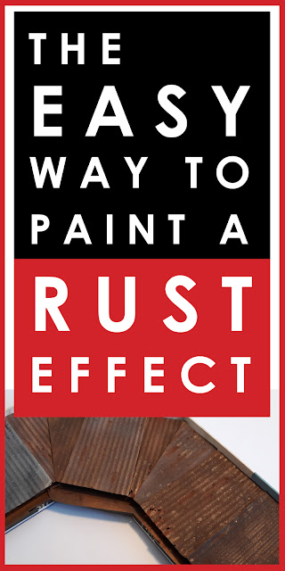 The easy way to paint a rust effect for scale models