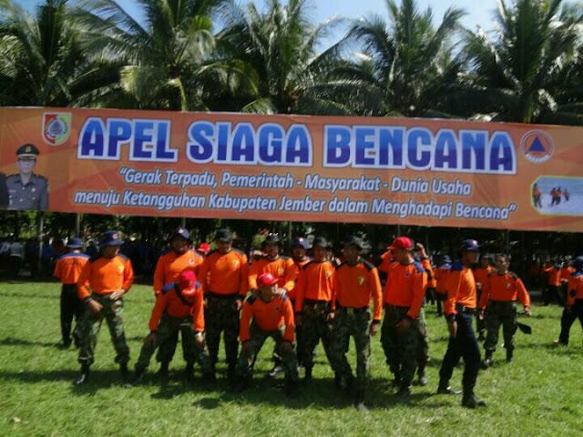 Apel Siaga Bencana Team Lazismu & KOKAM Jember bersama Bupati dan FORPIMDA Jember2
