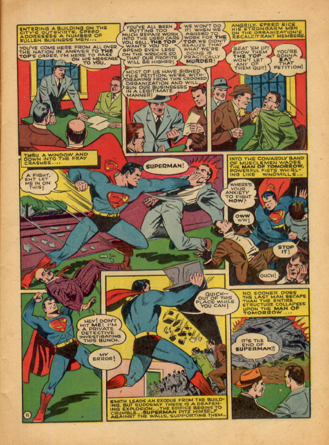 Read online Action Comics (1938) comic -  Issue #48 - 13