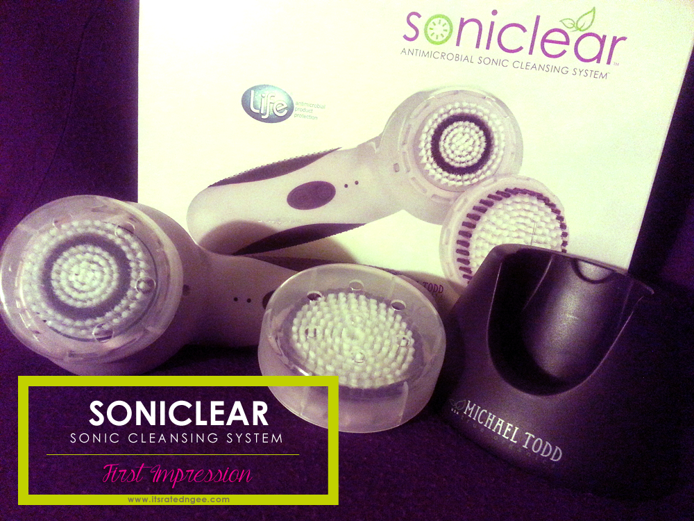 soniclear cleansing system review