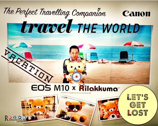Rilakkuma, Canon, Canon EOS M, Canon EOS M10, ToyTravel, byrawlins, Canon Asia, Canon Malaysia, mirrorless, compact camera