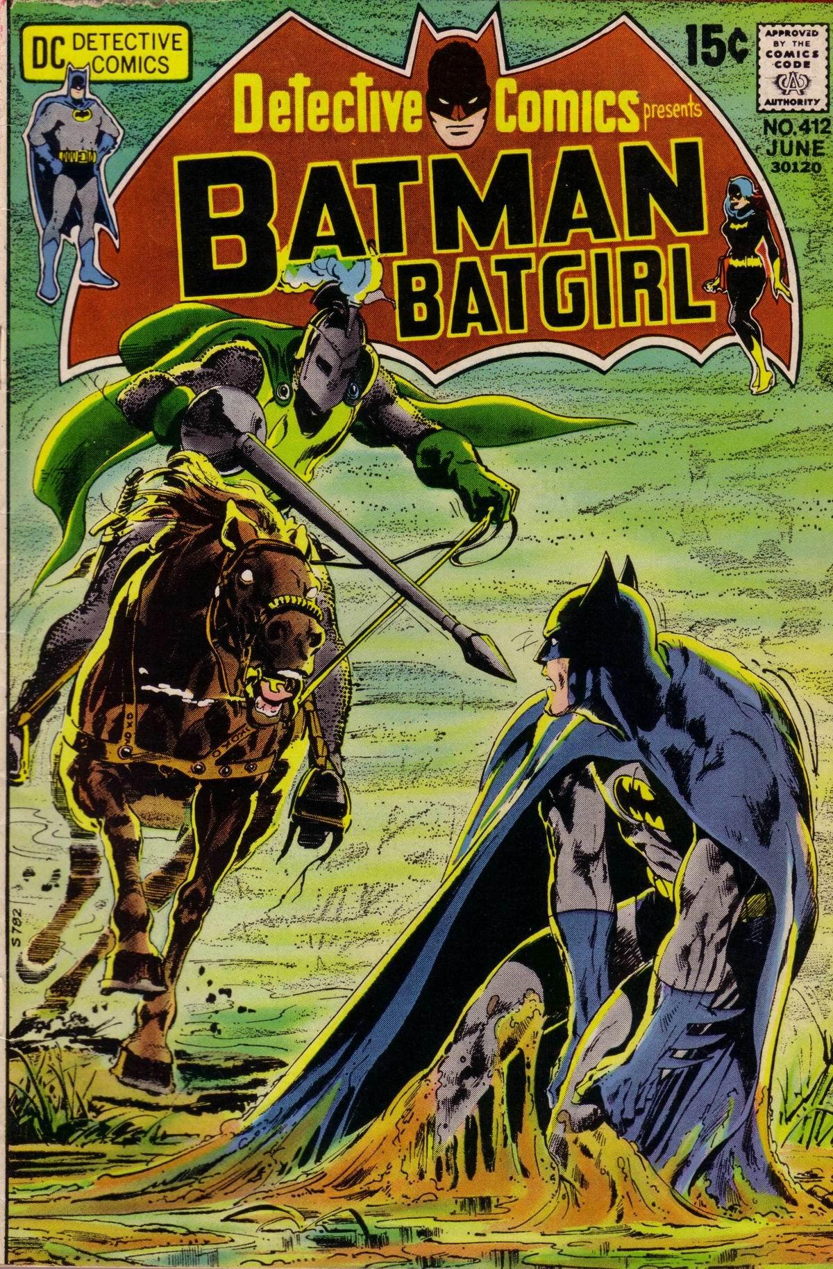 Detective Comics (1937) 412 Page 0