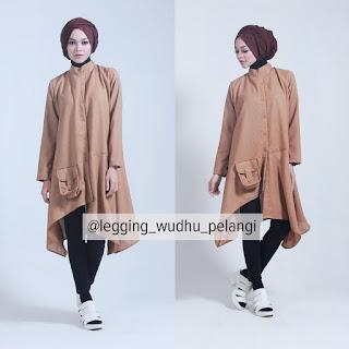 Legging Wudhu Pelangi, Celana Hijab, Celana Muslim, Celana Katun, Celana Legging, Celana Muslimah