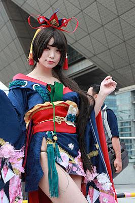 五木あきら/妖刀姫 コスプレ