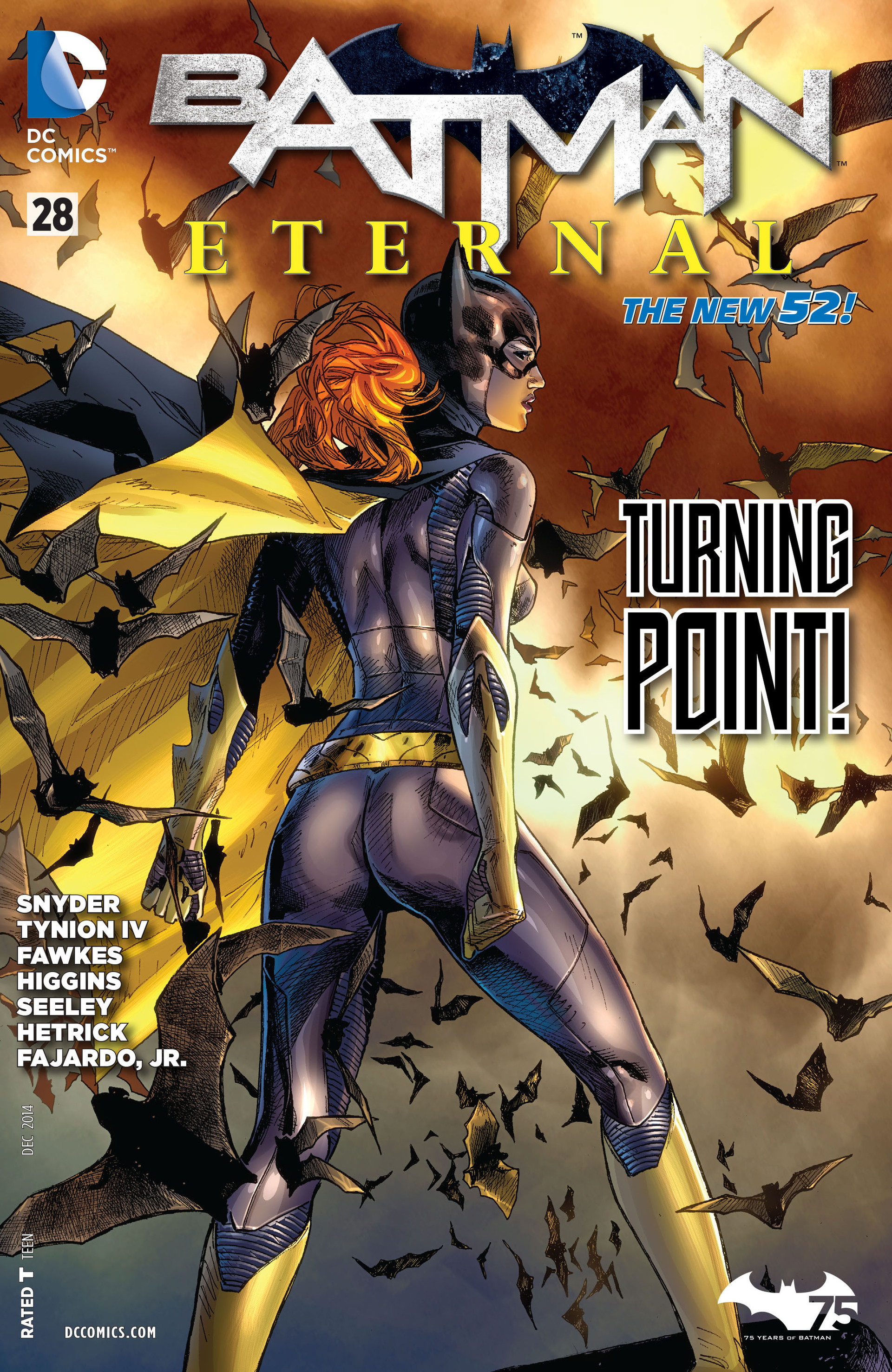 Batman Eternal issue 28 - Page 1
