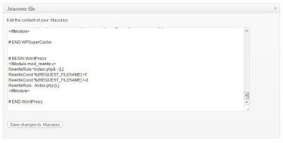 Wordpress htaccess Dosyası Yükleme Eklentiyle