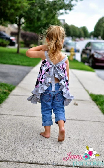 Sewing Patterns for Girls Dresses and Skirts: Pinafore Sewing ...