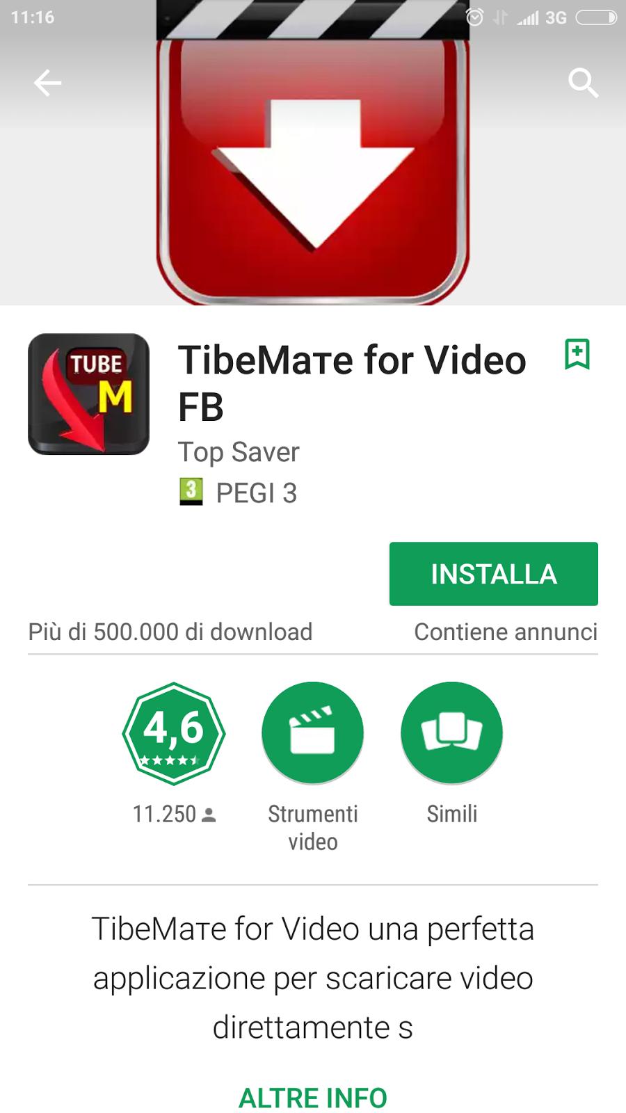 applicazione per scaricare video da internet android