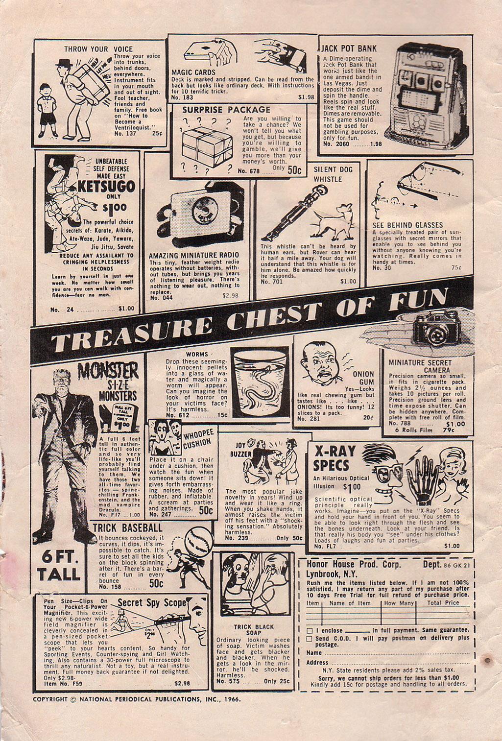 Strange Adventures (1950) issue 191 - Page 2