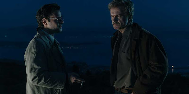 Baltasar Garzón y Darío Castro en 'Fariña'