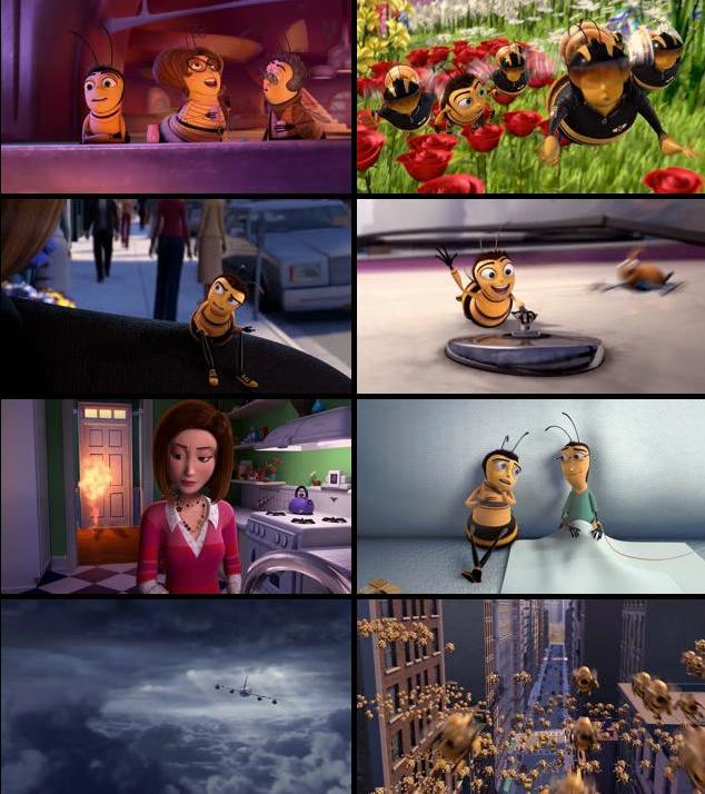 Bee Movie 2007 Dual Audio Hindi 720p BRRip