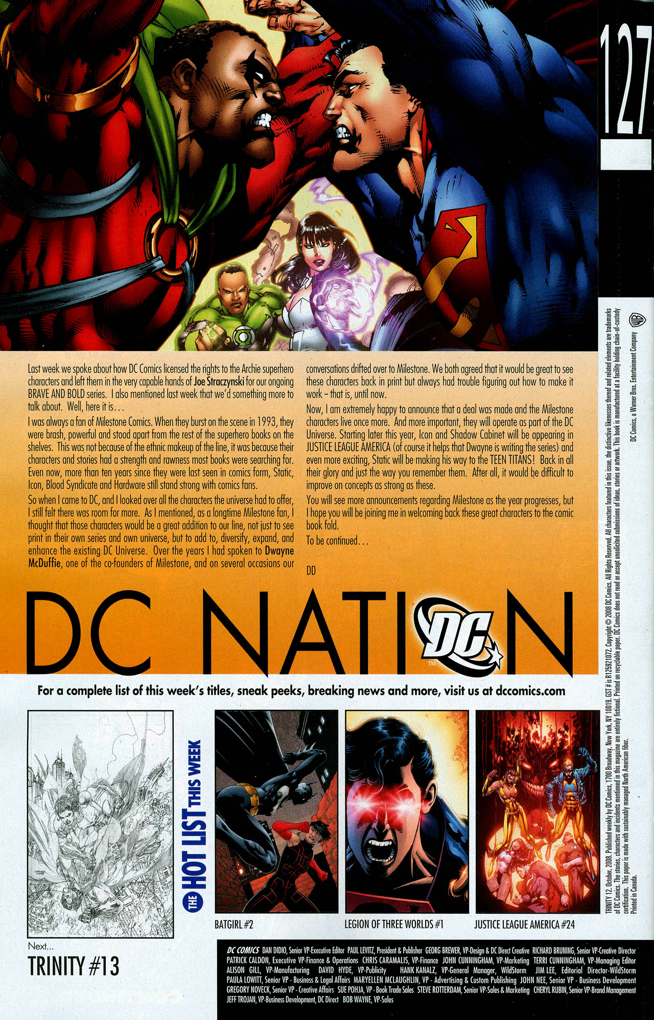 Read online Trinity (2008) comic -  Issue #12 - 34